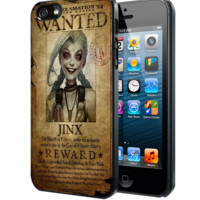 League of Legend Jinx wanted Samsung Galaxy S3 S4 S5 Note 3 , iPhone 4 5 5c 6 Plus , iPod 4 5 case