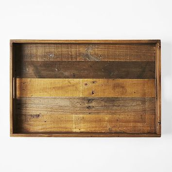 Reclaimed Wood Trays