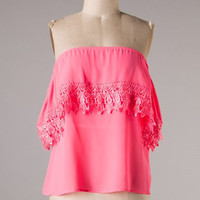 Top South Pacific - Neon Pink - Hazel & Olive