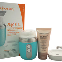 clarisonic - mia fit cleansing system - blue 4 piece kit