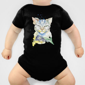 Cat Baby Clothes by AnNo illustrations