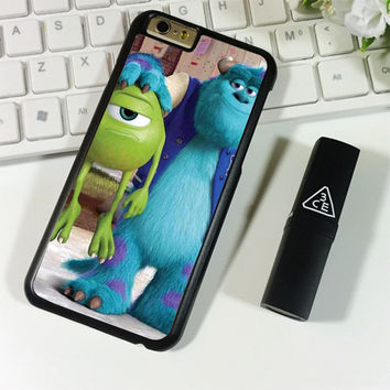 Monsters Inc sulley holding mike iPhone 6 Plus | 6S Plus Case Planetscase.com