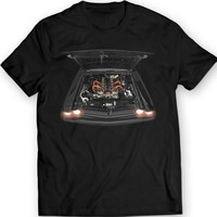 1971 Dodge Challenger R/T Engine View Muscle Car T-Shirt