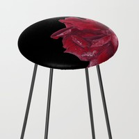 Roses are Red Counter Stool by drawingsbylam