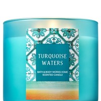 3-Wick Candle Turquoise Waters