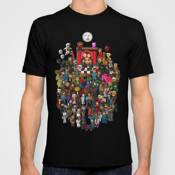 Super Mighty Boosh T-shirt by Lukas Stobie