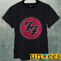 Foo Fighters Logo Men T Shirt