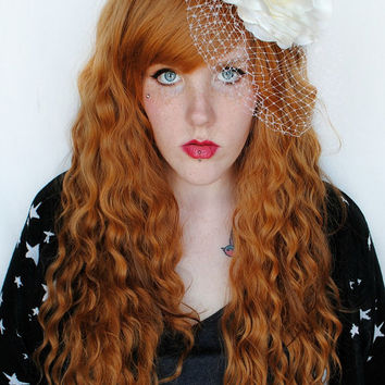 SALE Caramel brown wig, Lord of the rings wig, cosplay wig, scene wig, wavy brown wig // Mermaid Boho Bohemian // Galadriel