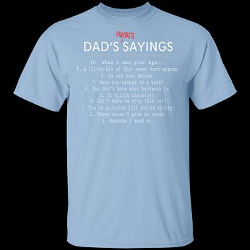 Dad Sayings T-Shirt