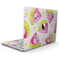Bright Highlighter WaterColor-Melins - MacBook Pro with Touch Bar Skin Kit