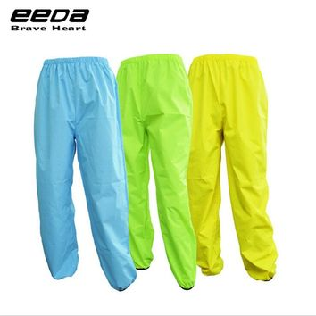 EEDA Men Sports Reflective Breathable Bike Bicycle Raincoat Pants Cycling Wind Rain Trousers Waterproof Windproof Pants