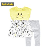 Balabala 2018 Baby Girl Clothes Sets Baby Infant Outfits Suits 2Pcs/lot Girl Clothes 100% Cotton Newborn Clothing Sets Baby girl