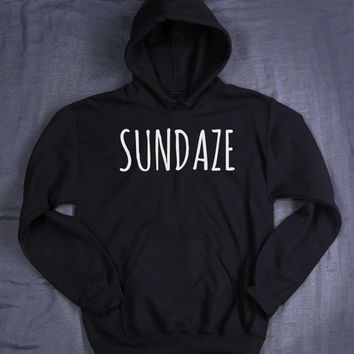 Sunday Sweatshirt Sundaze Hoodie Slogan Relax Chill Party Drinking Weekend Tumblr Sweatshirt Jumper
