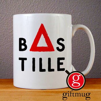 Bastille Band Logo Ceramic Coffee Mugs