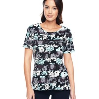 P. Black / Glace B Belize Floral Tee by Juicy Couture,