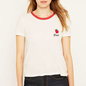 Truly Madly Deeply Fresh Strawberry T-shirt - Urban Outfitters