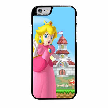 mario and princess peach left iphone 6 plus 6s plus 4 4s 5 5s 5c 6 6s cases