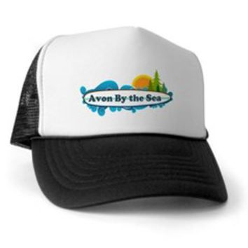 Avon NJ - Surf Design Trucker Hat> Avon NJ - Surf Design> Beach Tshirts.