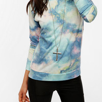 Urban Outfitters - Sparkle & Fade Galaxy Print Sweatshirt