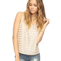 Spangled Stripe Top | FOREVER21 - 2000037643