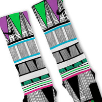 Tribal Jam Custom Nike Elite Socks