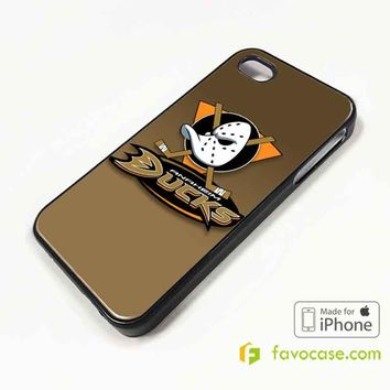 ANAHEIM DUCKS Ice Hockey Team NHL iPhone 4/4S 5/5S/SE 5C 6/6S 7 8 Plus X Case Cover