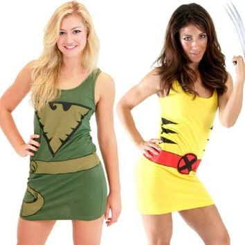 X-Men Juniors Costume Tunic Tank Dress