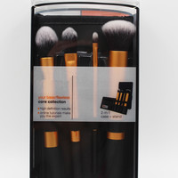 High Quality 2016 New 4pcs Professional Beginner Makeup Brush Cosmetic Brushes Real Makeup Powder Brushes Techniques Set Kit