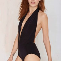 On the DL Plunging Bodysuit