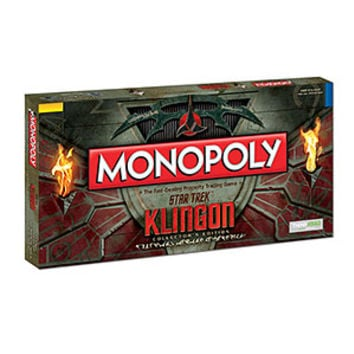 Star Trek Klingon Monopoly - Exclusive