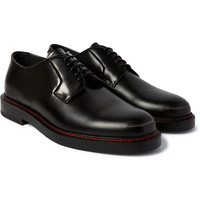 Raf Simons - Contrast-Stitched Leather Derby Shoes | MR PORTER