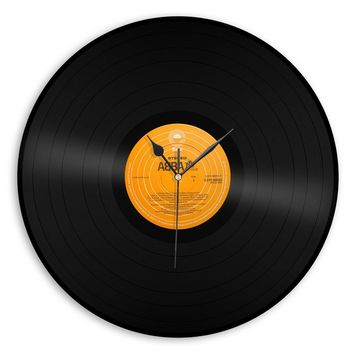 Wall Clock, Playable Record, Gift Under 10, Music Artist Record Clock, Pick An Artist, Elvis, Abba, Bob Seager, Chicago, Mozart And More