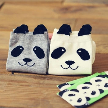 Women's Panda Socks, Unique Socks