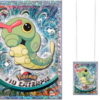 VINTAGE Pokemon Card Necklace - Caterpie