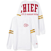 Kansas City Chiefs Bling Varsity Crew - PINK - Victoria's Secret