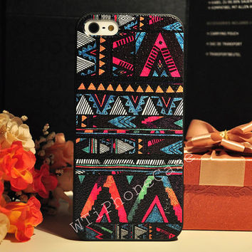 New Arrival--Black Bohemia iPhone 4 Case, Print vintage iphone 4 Case, Cute iphone 4 hard case Geometric iPhone 4 Case