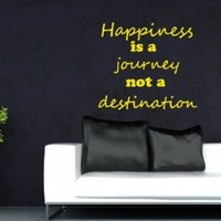 Wall Vinyl Sticker Decal Art Design Inspirational Quote By Unknown Source on Old Grunge Wall Lettering Room Nice Picture Decor Hall Chu974