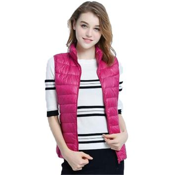 Women Fashion Duck Down Jacket