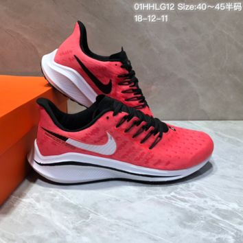 HCXX N666 Nike Air Zoom Vomero V14 Sports Running Shoes Pink
