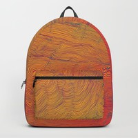 Auric Waves Backpack by duckyb