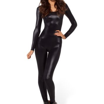 Wet Look Long Sleeve Catsuit 2.0