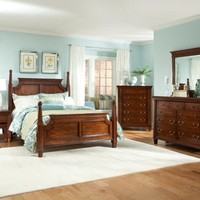 Esther Queen Poster Bed