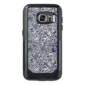 Modern Abstract Stripes Pattern OtterBox Samsung Galaxy S7 Case
