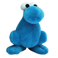 Blue Nerds Plush Character