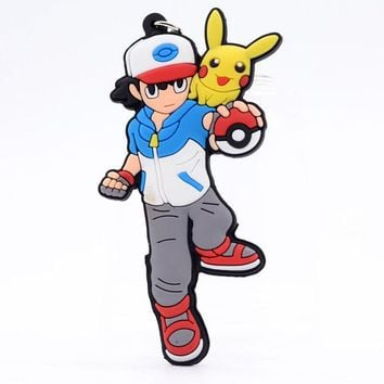 Brand New Video Game Pokemon Ash Ketchum Keychain