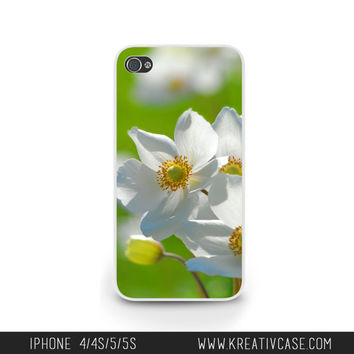 Spring Flowers iPhone Case, iPhone 5, iPhone 5C, iPhone 4S, Summertime,Happy Sunshine iPhone Case, Personalized iPhone Cover -G008
