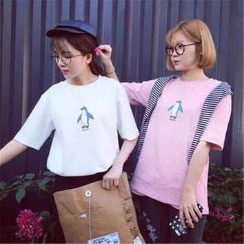 Women Harajuku Kawaii T-shirt Short Sleeve Cartoon Casual Loose Tops Tees Cute Fashion Character Summer Female Clothing HT548