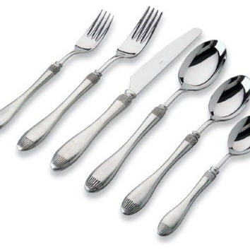 Match Pewter Daniela Flatware 6 PPS