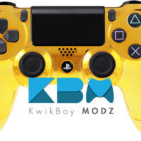 Gold Chrome Dualshock 4 PS4 Controller