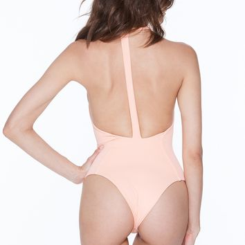MGS Body Gloved One Piece - Hot Apricot Rib